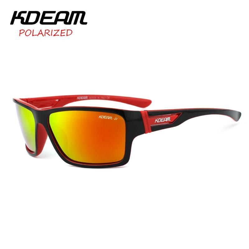 Kdeam Polarized Sunglasses Men Sun Glasses Sport Women Oculos De Sol With Al Box-Polarized Sunglasses-Bargain Bait Box-C1-Polarized with Case-Bargain Bait Box