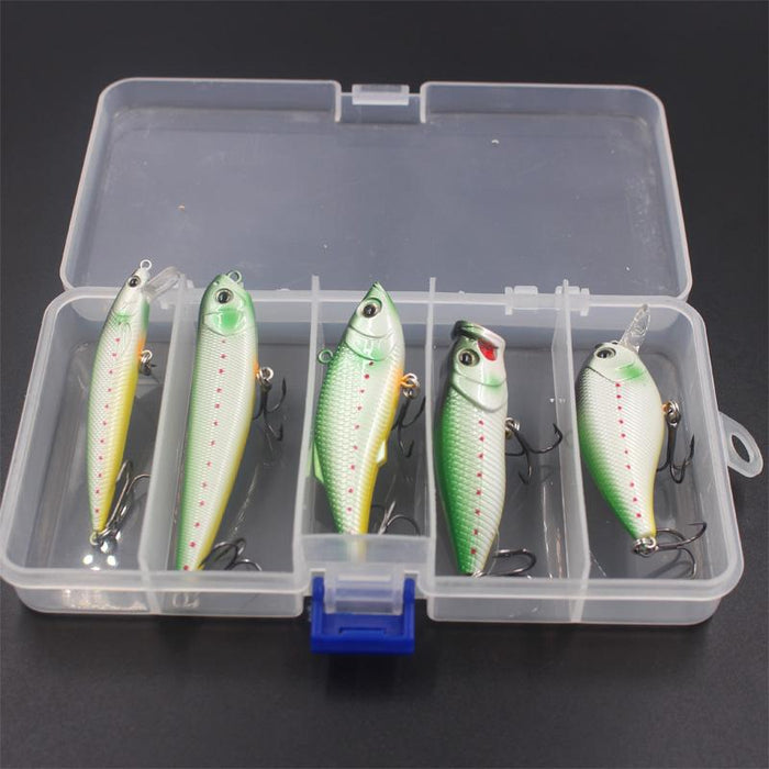 Kit Style/Weight 5Pcs Bait Abs-Hard Bait Kits-Bargain Bait Box-Bargain Bait Box