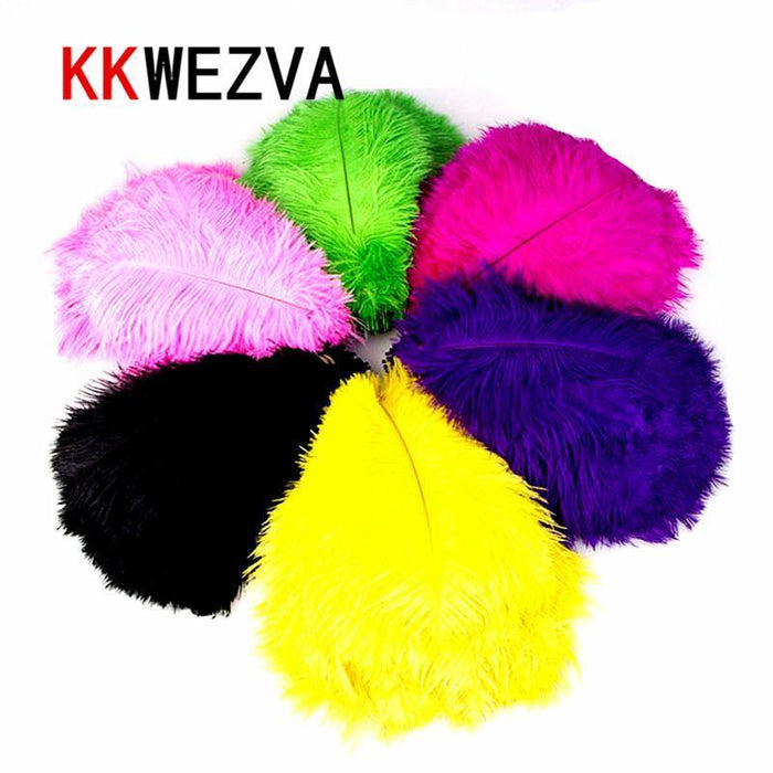 Kkwezva 20Pcs Fly Tying Materials Ostrich Herl Feathers Multicolor Trout Fly-Fly Tying Materials-Bargain Bait Box-Bargain Bait Box