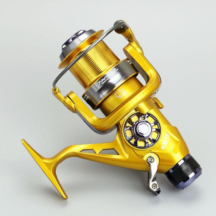 Km50-60 Hand Brake Wheel 10+1Bb 5.2:1 Brand Metal Line Cup Cnc Rocker Arm-Spinning Reels-YPYC Sporting Store-5000 Series-Bargain Bait Box