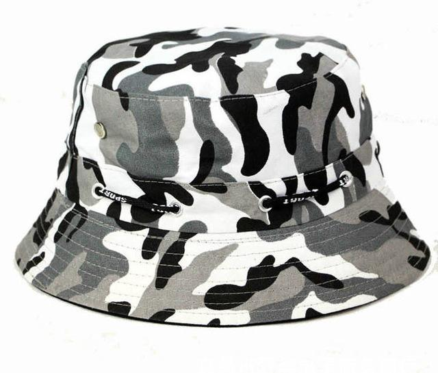 [La Maxpa] Jungle Cap Bucket Hats Chapeau Homme Men Fishing Chapeus Camo Hats-Hats-Bargain Bait Box-T7 2-Bargain Bait Box