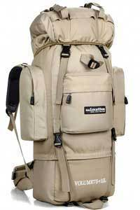 Large 85L Local Lion Professional Waterproof Travel Backpack Men Camp Hike-Cazy Up Store-khaki-Bargain Bait Box