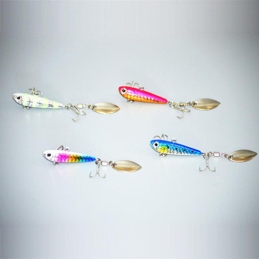Laser Spinnerbait 20G 5Cm Jig Bait Vib Metal Spinner Bait 1 Pcs/Lot-Panfish Jigs-Bargain Bait Box-1-Bargain Bait Box