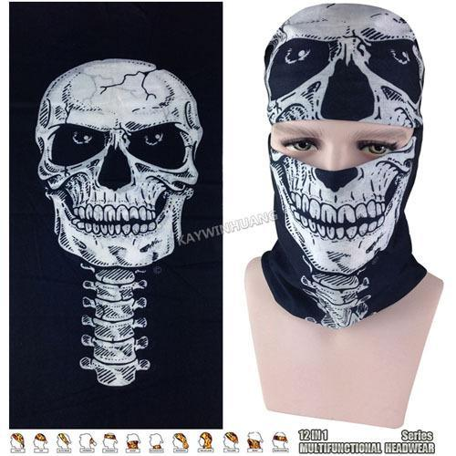 Latest Hypaethral Sports Scarves Sunscreen Bicycle Headband Skull Face Shield-Face Shields-Bargain Bait Box-MHM124-Bargain Bait Box