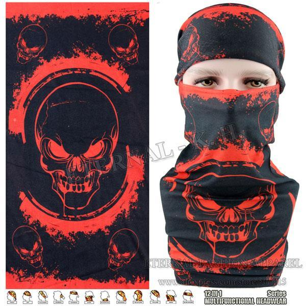 Latest Hypaethral Sports Scarves Sunscreen Bicycle Headband Skull Face Shield-Face Shields-Bargain Bait Box-MHM127-Bargain Bait Box