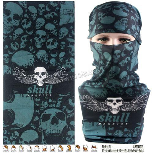Latest Hypaethral Sports Scarves Sunscreen Bicycle Headband Skull Face Shield-Face Shields-Bargain Bait Box-MHM128-Bargain Bait Box