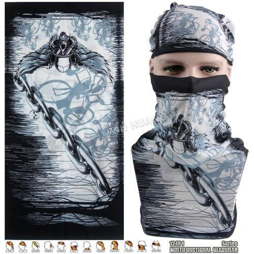 Latest Hypaethral Sports Scarves Sunscreen Bicycle Headband Skull Face Shield-Face Shields-Bargain Bait Box-MHM129-Bargain Bait Box