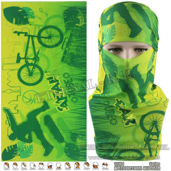 Latest Hypaethral Sports Scarves Sunscreen Bicycle Headband Skull Face Shield-Face Shields-Bargain Bait Box-MHM133-Bargain Bait Box