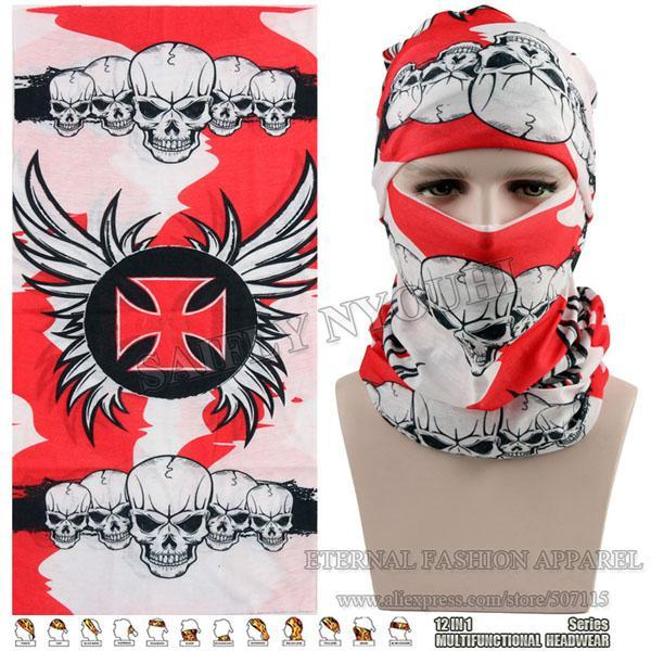 Latest Hypaethral Sports Scarves Sunscreen Bicycle Headband Skull Face Shield-Face Shields-Bargain Bait Box-MHM135-Bargain Bait Box