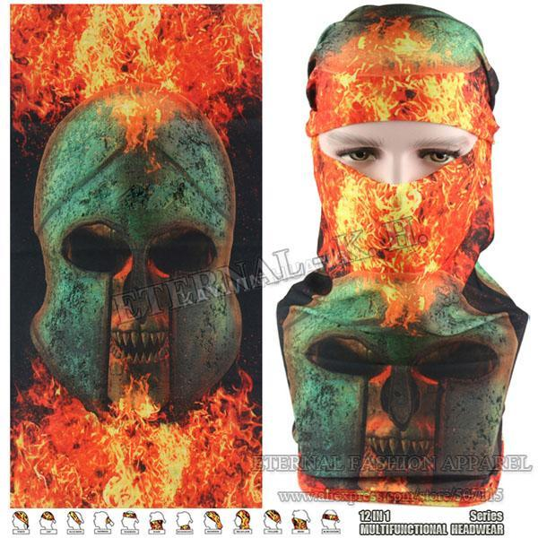 Latest Hypaethral Sports Scarves Sunscreen Bicycle Headband Skull Face Shield-Face Shields-Bargain Bait Box-MHM139-Bargain Bait Box