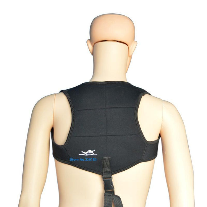 Layatone Black 2Mm Neoprene Wetsuit Diving Weight Belt Vest For Spearfishing-Spearfishing-Bargain Bait Box-Multi-L-Bargain Bait Box