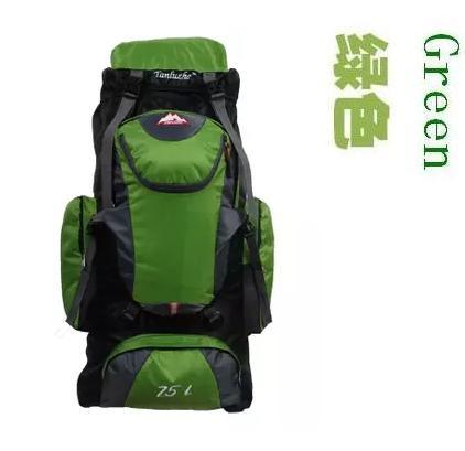 Lemochic 75L Camping Climbing Bags Bag Vlsivery Large Capacity Sports Backpack-Backpacks-Bargain Bait Box-Green-Bargain Bait Box