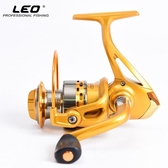 Leo High Speed Fishing Long Cast Reel Metal Head 5.5:1 Ratio Spinning Fishing-Spinning Reels-leo Official Store-1000 Series-Bargain Bait Box