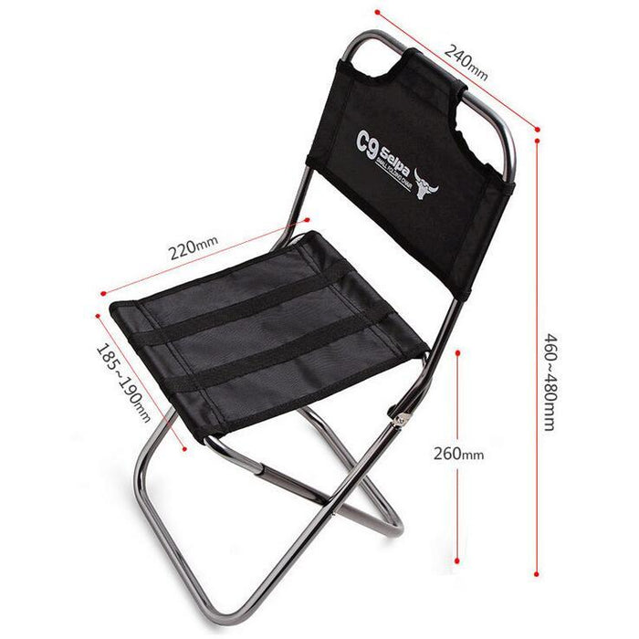 Light Outdoor Fishing Chair By Strong Aluminum Alloy Nylon Camouflage Folding-Supering Online Store-Bargain Bait Box
