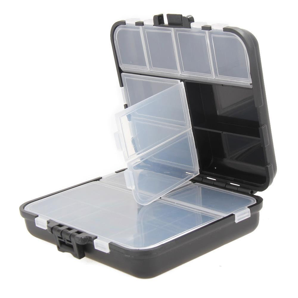 Light Weight 26 Compartments Storage Case Fly Spoon Hook Bait Tackle Case Box-Compartment Boxes-Bargain Bait Box-Bargain Bait Box