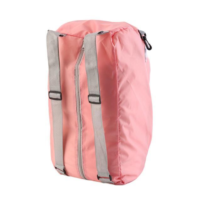 Lightweight Portable Waterproof Zipper Soild Daily Traveling Sports Backpacks-2017 Outdoor Activity Store-Pink-Bargain Bait Box