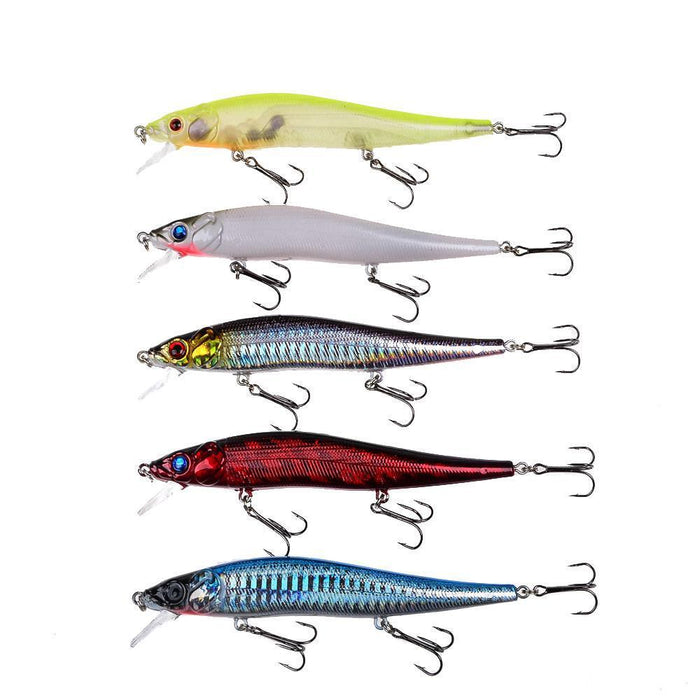 Lingyue 1Pcs Fishing Lures 11.5Cm/14.5G Hard Baits 5 Colors Availableplastic-Lingyue Fishing Tackle Co.,Ltd-C1-Bargain Bait Box