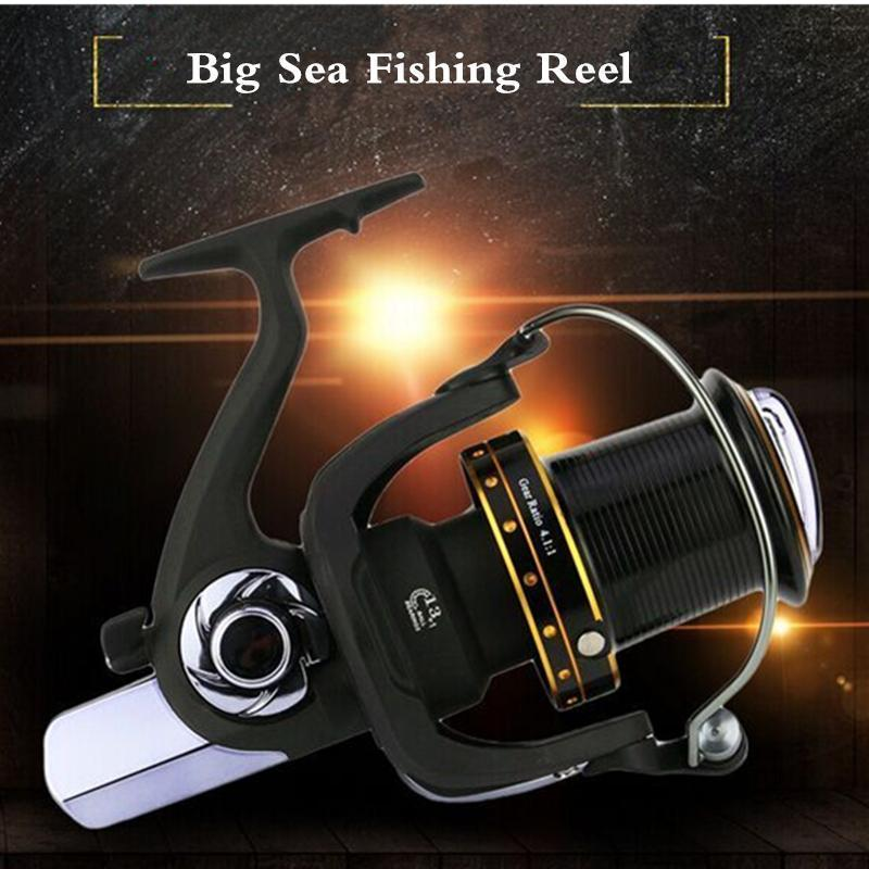 Long Shot Wheel Full Metal Spool Jigging Trolling Long Shot Casting For Carp And-Spinning Reels-ArrowShark fishing gear shop Store-6000 Series-Bargain Bait Box