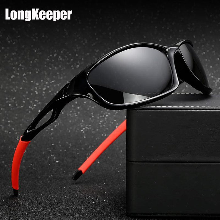 Longkeeper Polarized Sunglasses Men Driving Sun Glasses Oculos De Sol-Polarized Sunglasses-Bargain Bait Box-black black-Bargain Bait Box