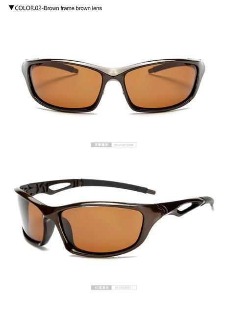 Longkeeper Polarized Sunglasses Men Driving Sun Glasses Oculos De Sol-Polarized Sunglasses-Bargain Bait Box-brown brown-Bargain Bait Box