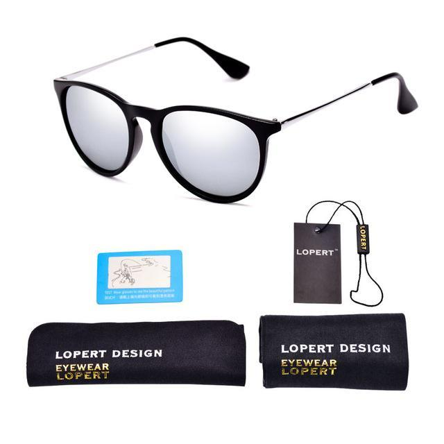 Lopert Cat Eye Hd Polarized Sunglasses Women Driving Glasses Sun Glasses-Polarized Sunglasses-Bargain Bait Box-SET 1 Black Silver-Bargain Bait Box