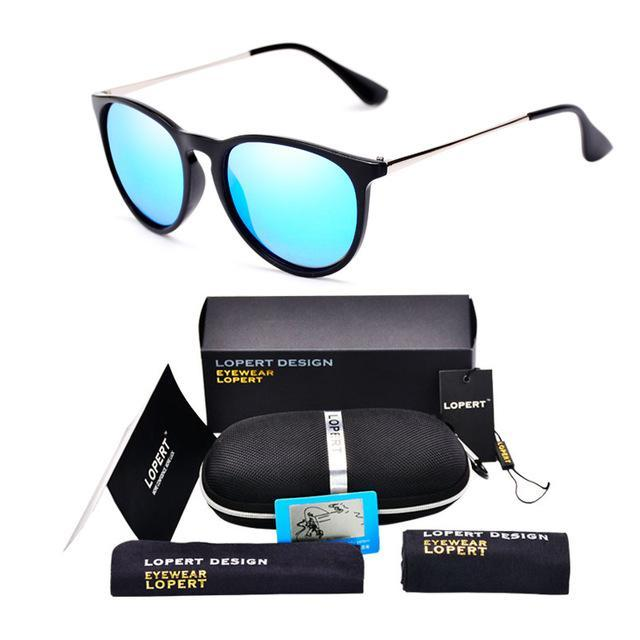 Lopert Cat Eye Hd Polarized Sunglasses Women Driving Glasses Sun Glasses-Polarized Sunglasses-Bargain Bait Box-SET 2 Black Blue-Bargain Bait Box