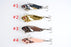 Lot 8Pcs 5Cm/10.8G 8# Hook Vib Metal Hard Bait Fish Tackle-Blade Baits-Bargain Bait Box-Bargain Bait Box