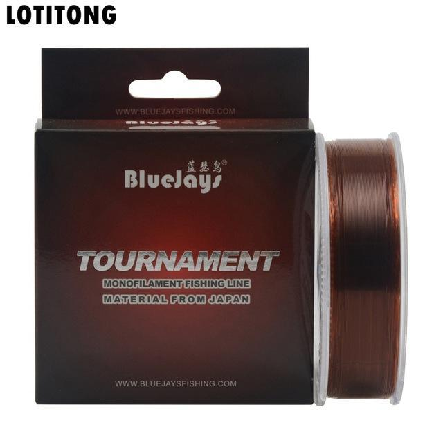 Lotitong Stealth Fishing Line Super Strong Japanese 200M Transparent Nylon-LOTITONG Store-copper-0.6 0.127mm-2.78LB-Bargain Bait Box