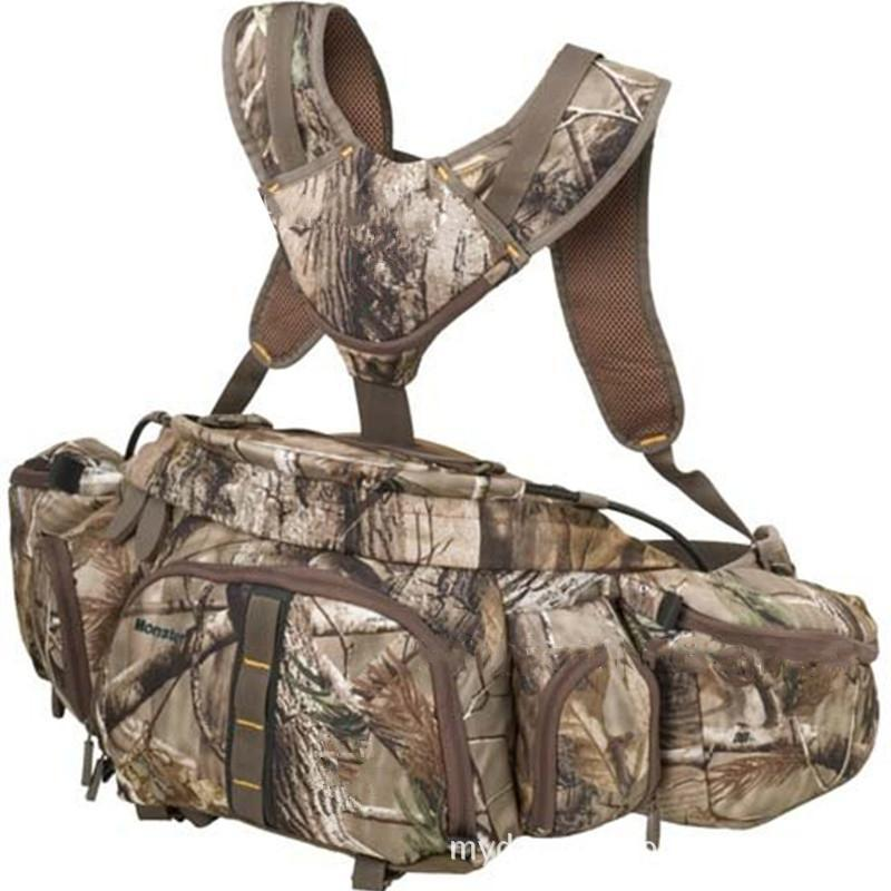 Lumiparty Multifunctional Actical Molle Pack Backpack Camouflage Waist Bag-Primitive man Store-Bargain Bait Box
