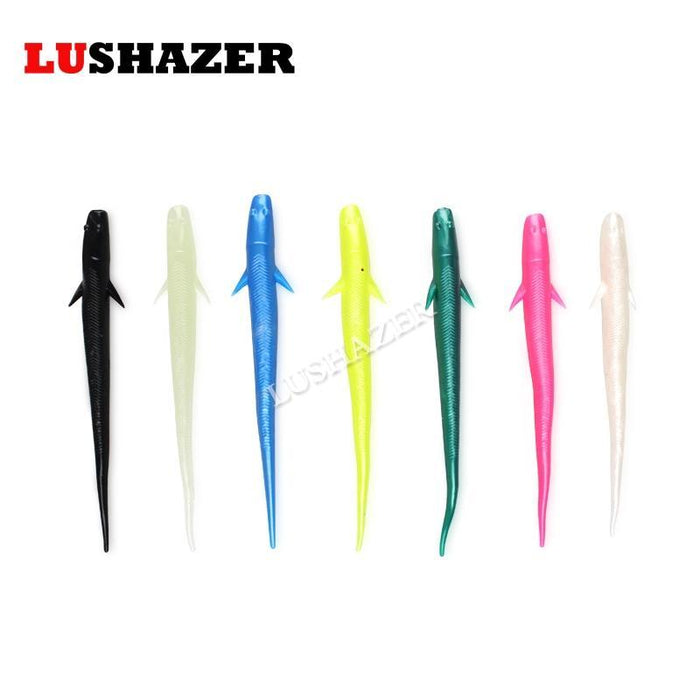 Lushazer 14Pcs/Lot Soft Fishing Lure 1G 3G Carp Fishing Iscas Artificiais Soft-LUSHAZER Official Store-7cm-Bargain Bait Box