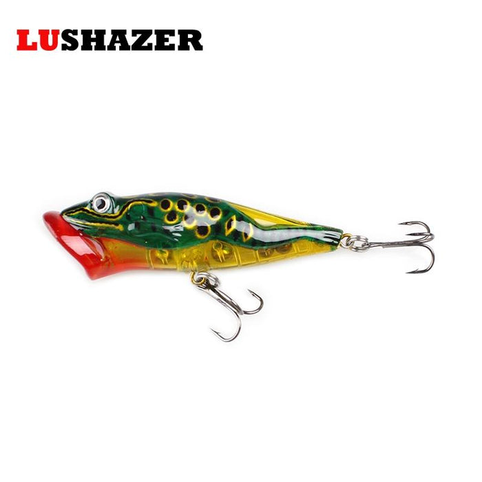 Lushazer Popper 8Cm 11.5G S Para Hard Bait Fish Bass Feeder-Top Water Baits-Bargain Bait Box-A-Bargain Bait Box