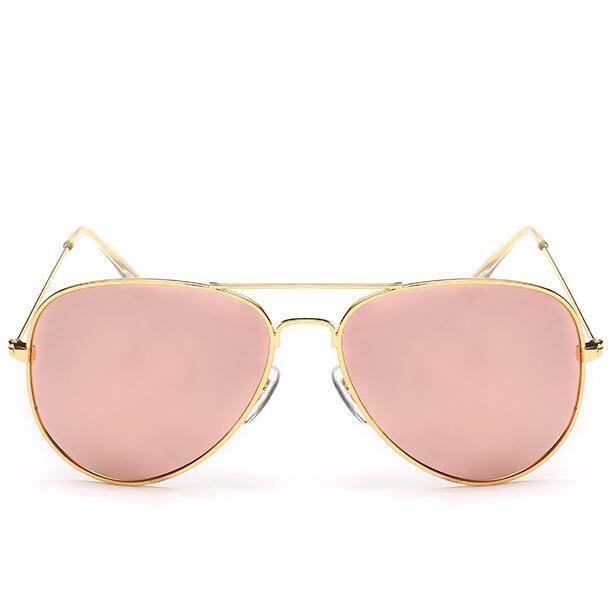 Luxury Vintage Polarized Sunglasses Women Female Sunglass Aviator Sun Glasses-Polarized Sunglasses-Bargain Bait Box-C8Gold F Pink-Colors-Bargain Bait Box