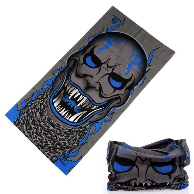 Magic Seamless Bandanas Headwear Neck Gaiter Sports Face Mask Tubular Scarf-Face Shields-Bargain Bait Box-3551-Bargain Bait Box