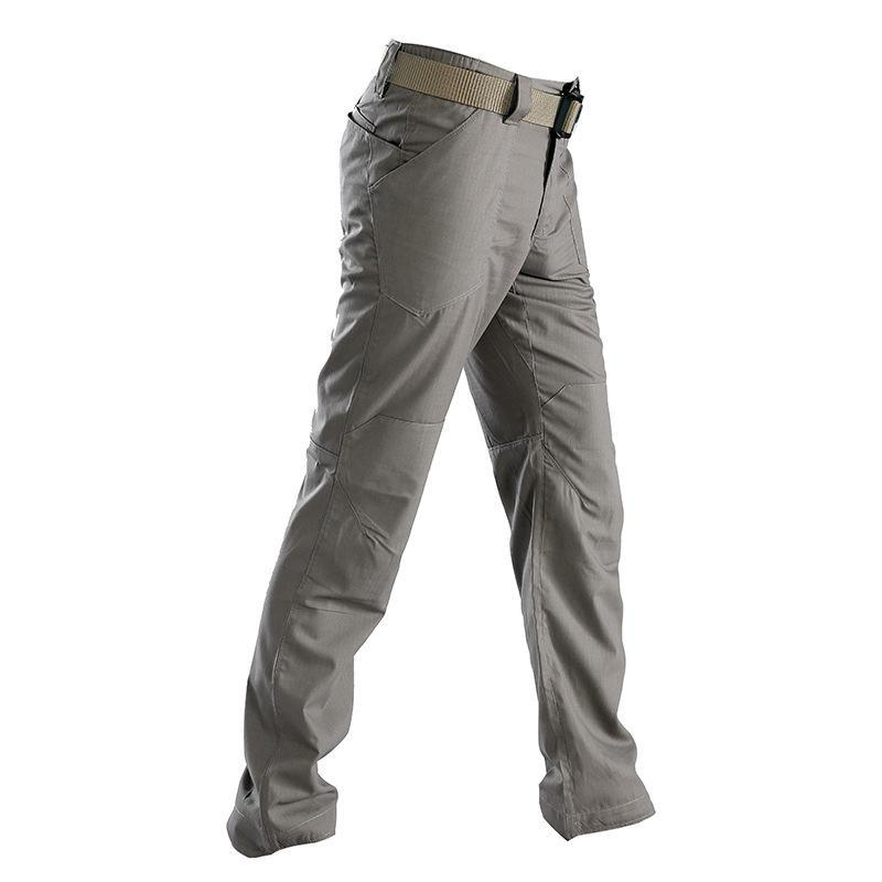 Male Softshell Pants Men Waterproof Camping Climbing Fishing Trekking Tactical-Pants-Bargain Bait Box-Gray-S-Bargain Bait Box