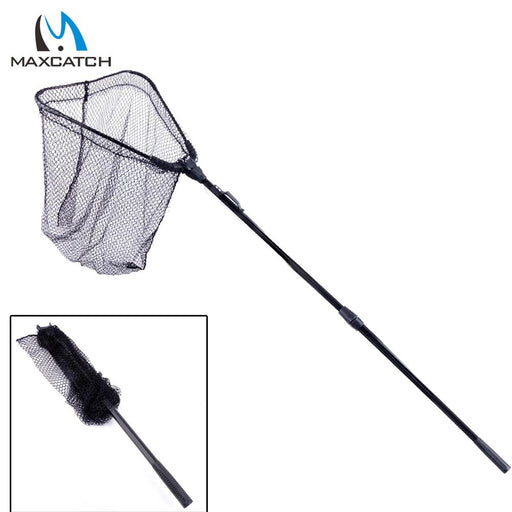 Maxcatch Folding Fishing Net Landing Net With Telescoping Handle-Fishing Nets-Bargain Bait Box-Bargain Bait Box
