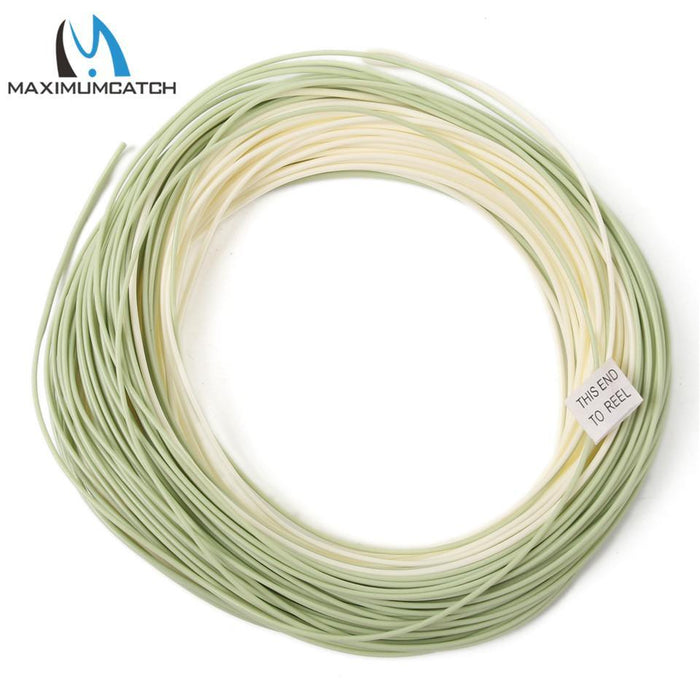 Maximumactch Perception Floating Fly Line High Quality Weight Forward Floating-MaxCatch Outdoor-4.0-Bargain Bait Box
