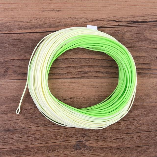 Maximumcatch 100Ft Double Color Weight Forward Floating Fly Line With Two Welded-MAXIMUMCATCH Official Store-Color 03-3.0-Bargain Bait Box