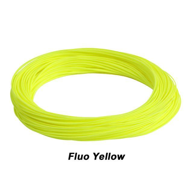 Maximumcatch 100Ft Weight Forward Floating Fly Fishing Line-MAXIMUMCATCH Official Store-Fluo Yellow-WF2F-Bargain Bait Box