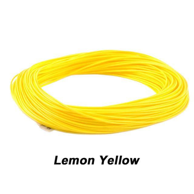 Maximumcatch 100Ft Weight Forward Floating Fly Fishing Line-MAXIMUMCATCH Official Store-Lemon Yellow-WF2F-Bargain Bait Box
