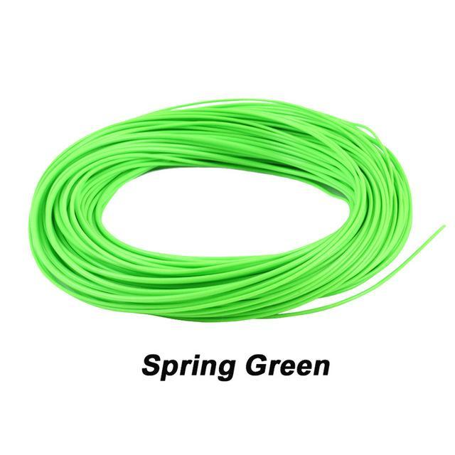 Maximumcatch 100Ft Weight Forward Floating Fly Fishing Line-MAXIMUMCATCH Official Store-Spring Green-WF2F-Bargain Bait Box