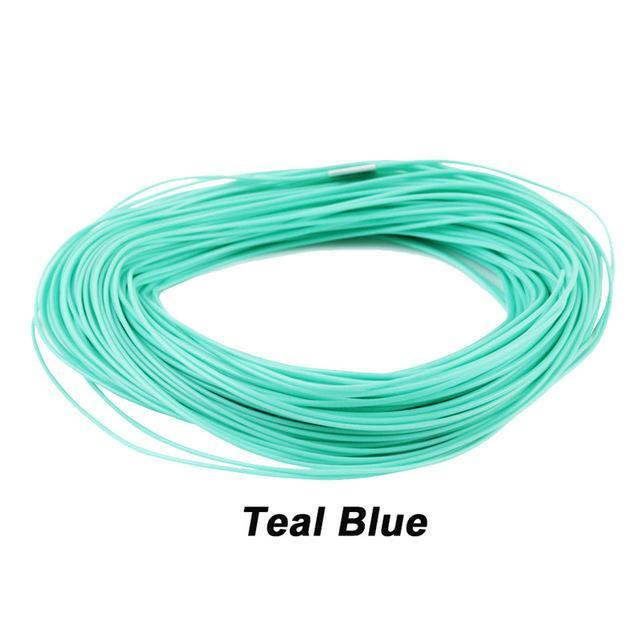 Maximumcatch 100Ft Weight Forward Floating Fly Fishing Line-MAXIMUMCATCH Official Store-Teal Blue-WF2F-Bargain Bait Box