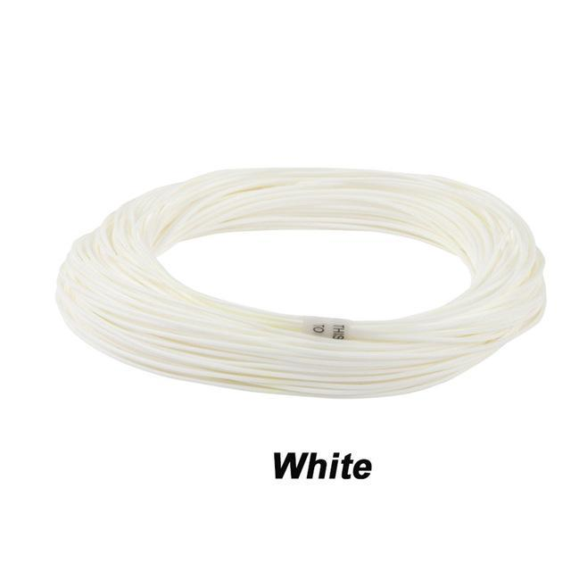 Maximumcatch 100Ft Weight Forward Floating Fly Fishing Line-MAXIMUMCATCH Official Store-White-WF2F-Bargain Bait Box