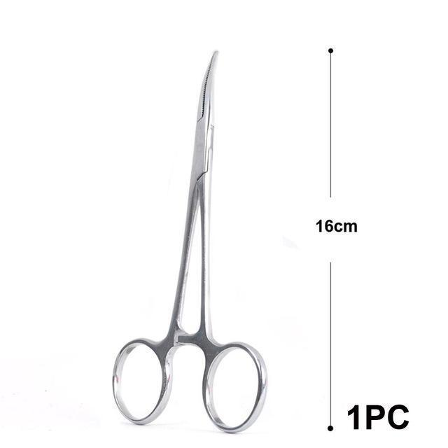 Maximumcatch 14Cm 16Cm 18Cm Fishing Accessory Curved Hemostats Fly Fishing-MAXIMUMCATCH Official Store-16cm 1pc-Bargain Bait Box