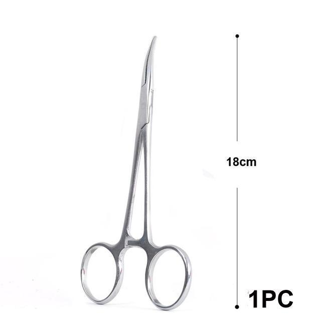 Maximumcatch 14Cm 16Cm 18Cm Fishing Accessory Curved Hemostats Fly Fishing-MAXIMUMCATCH Official Store-18cm 1pc-Bargain Bait Box