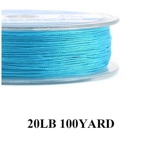 Maximumcatch 20/30Lb 100/300Yards Braided Backing Line Multi Color Fly Fishing-MAXIMUMCATCH Fishing Solution Store-Blue-Bargain Bait Box