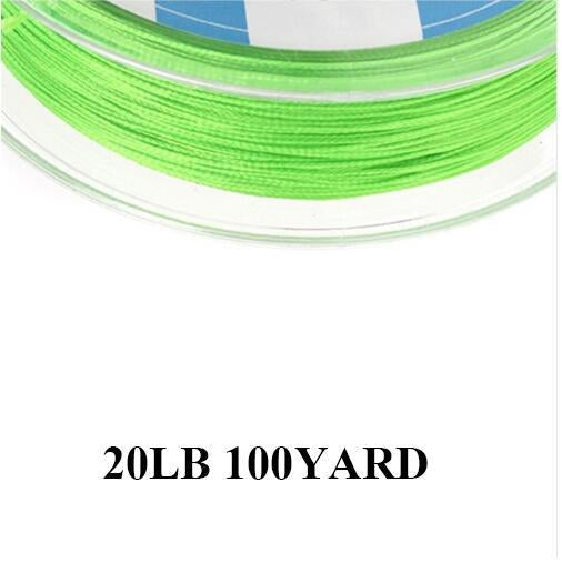 Maximumcatch 20/30Lb 100/300Yards Braided Backing Line Multi Color Fly Fishing-MAXIMUMCATCH Fishing Solution Store-Green-Bargain Bait Box
