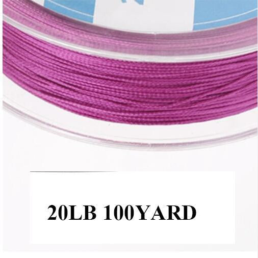 Maximumcatch 20/30Lb 100/300Yards Braided Backing Line Multi Color Fly Fishing-MAXIMUMCATCH Fishing Solution Store-Purple-Bargain Bait Box