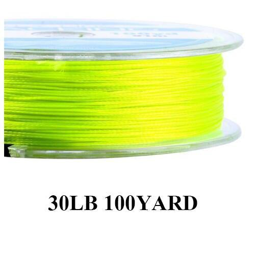 Maximumcatch 20/30Lb 100/300Yards Braided Backing Line Multi Color Fly Fishing-MAXIMUMCATCH Fishing Solution Store-Yellow11-Bargain Bait Box