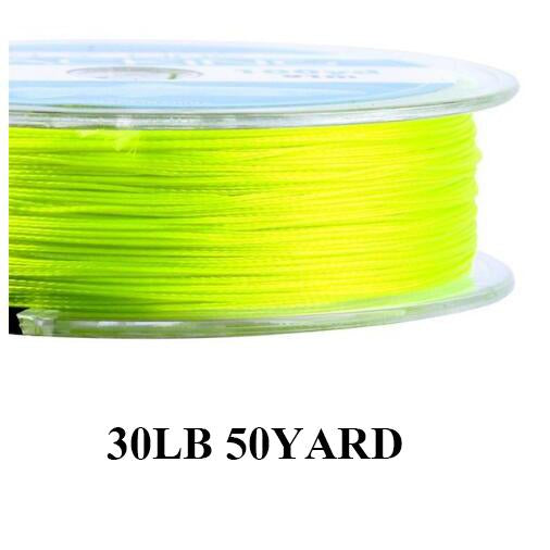 Maximumcatch 20Lb 50Yards Backing Line Multi Color Braided Fly Fishing Line-MAXIMUMCATCH Fishing Solution Store-Yellow-Bargain Bait Box