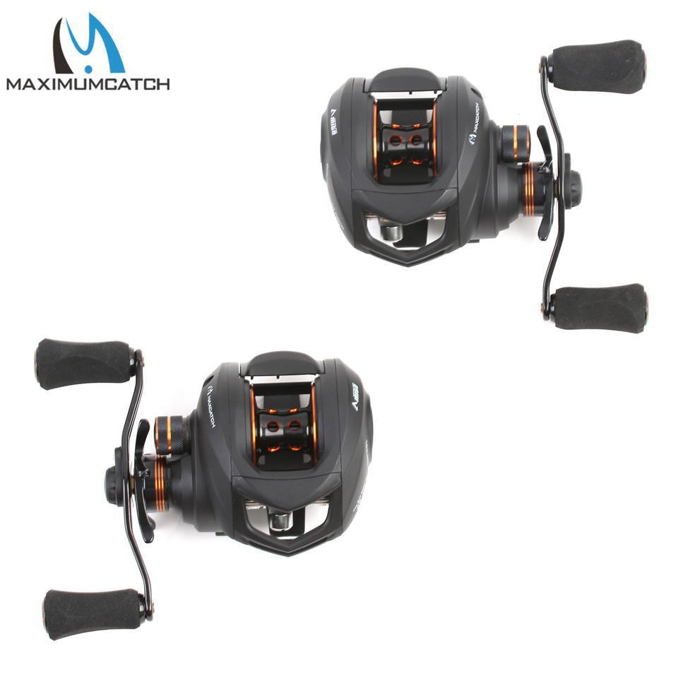 Maximumcatch Amigo Gear Ratio 6.3:1 11+1Bb Bait Casting Fishing Reel-Baitcasting Reels-MAXIMUMCATCH Fishing Solution Store-Left Hand-Bargain Bait Box